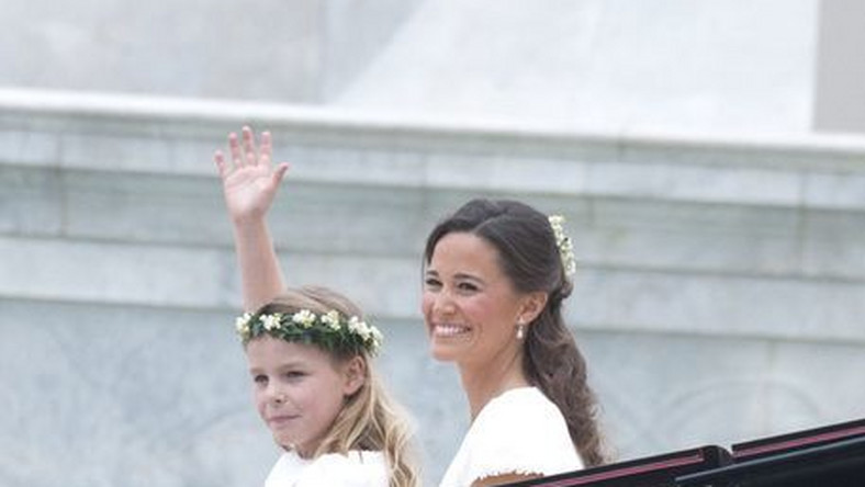 Pippa na ślube siostry