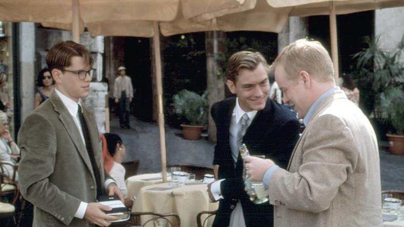 "Matt Damon, Jude Law i Philip Seymour Hoffman w filmie ""Utalentowany pan Ripley"""