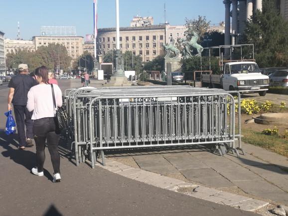Pripreme za zatvaranje ulica