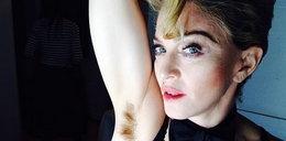 Obleśne. Madonna chwali się zarostem pod pachami