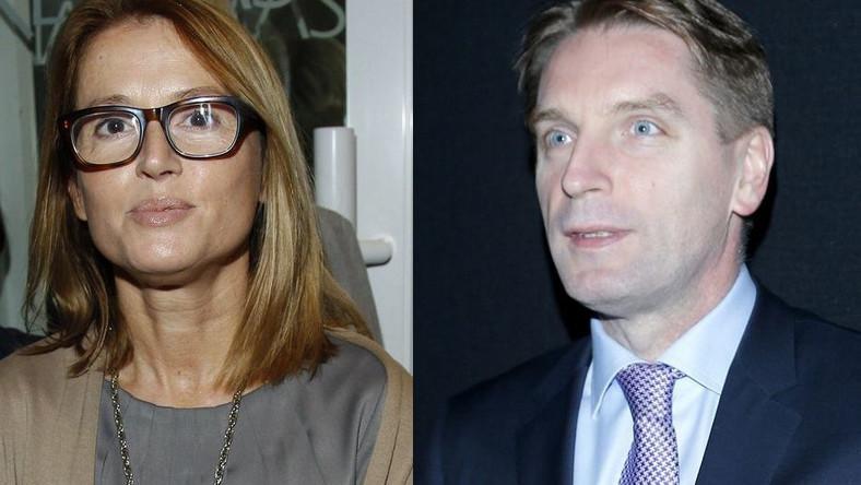 Monika Jaruzelska i Tomasz Lis