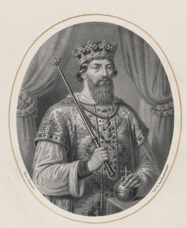 Kazimierz Odnowiciel, grafika Aleksandra Lessera