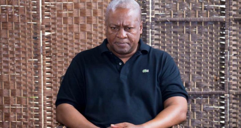 Former prsident John Dramani Mahama