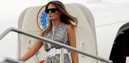 Chwile grozy na pokładzie samolotu z Melanią Trump