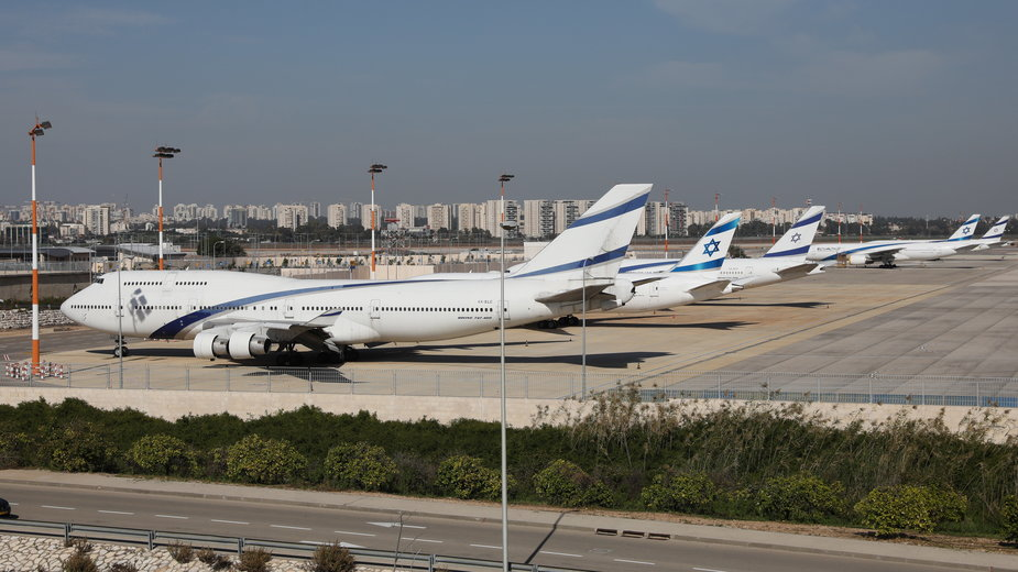 Koronawirus: Izrael. Zakaz wszelkich lotów komercyjnych