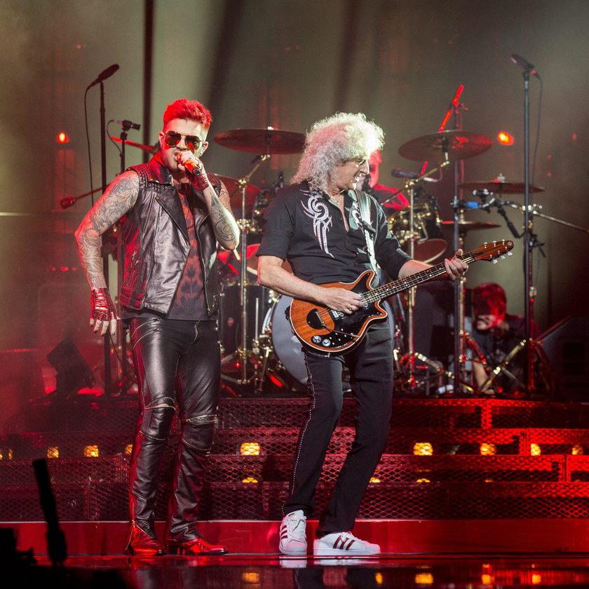 Adam Lambert i zespól Queen