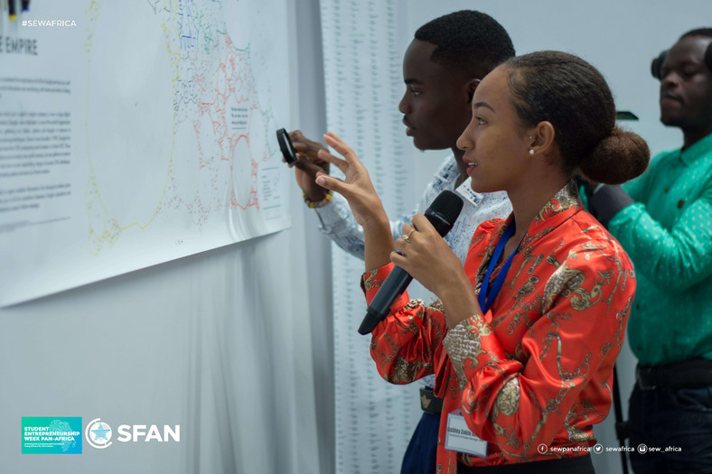 Student Entrepreneurship Week Pan-Africa 2019 at Ecobank, Accra