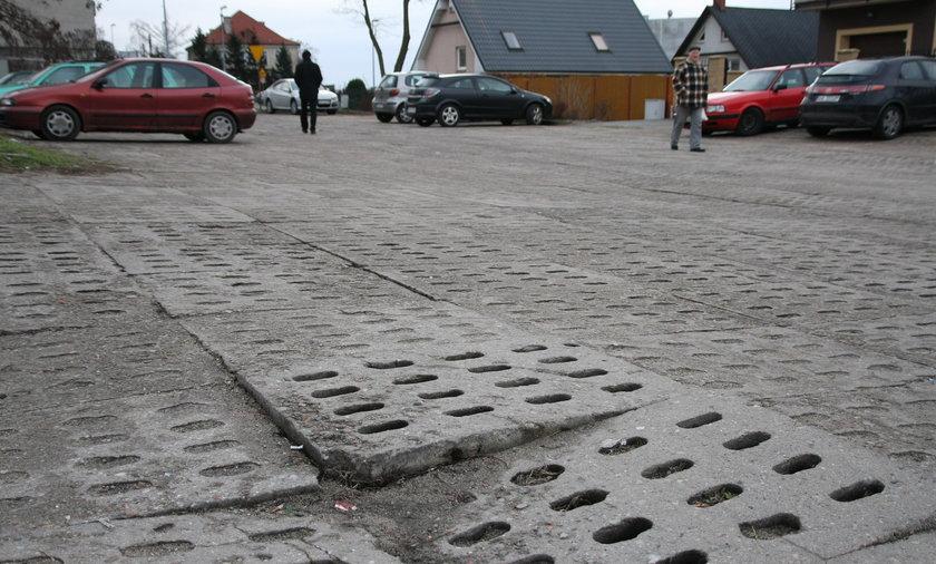 Prowizoryczne ulice w Gdańsku