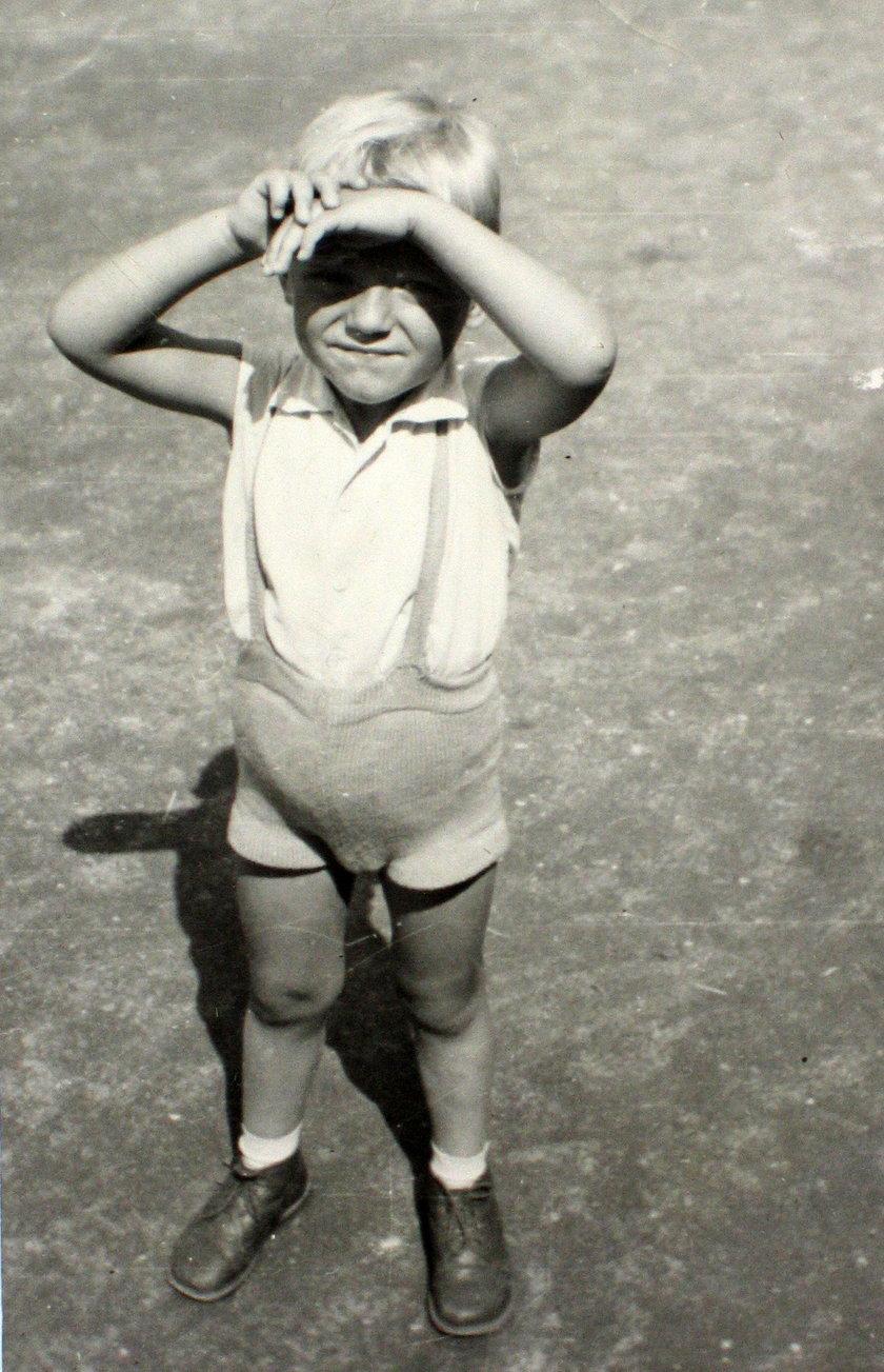 Donald Tusk w dzieciństwie