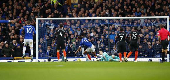 Detalj sa meča Everton - Čelsi