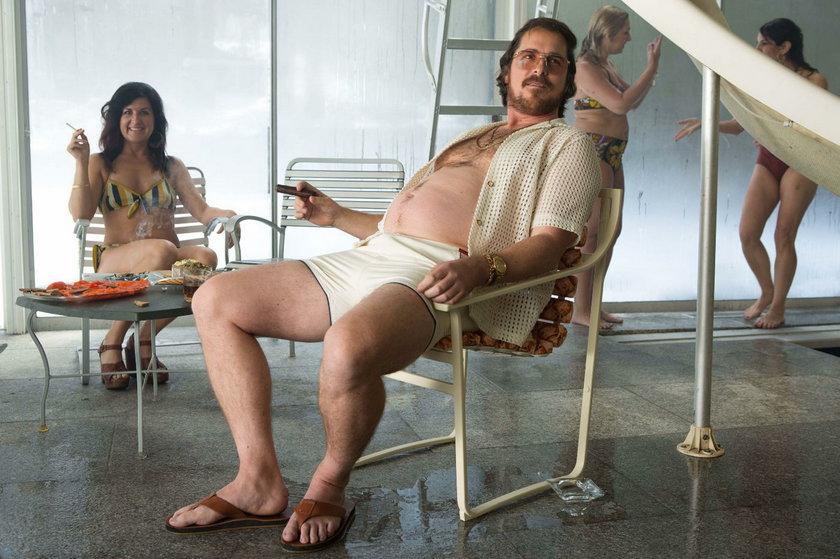 "Christian Bale w ""American Hustle"""