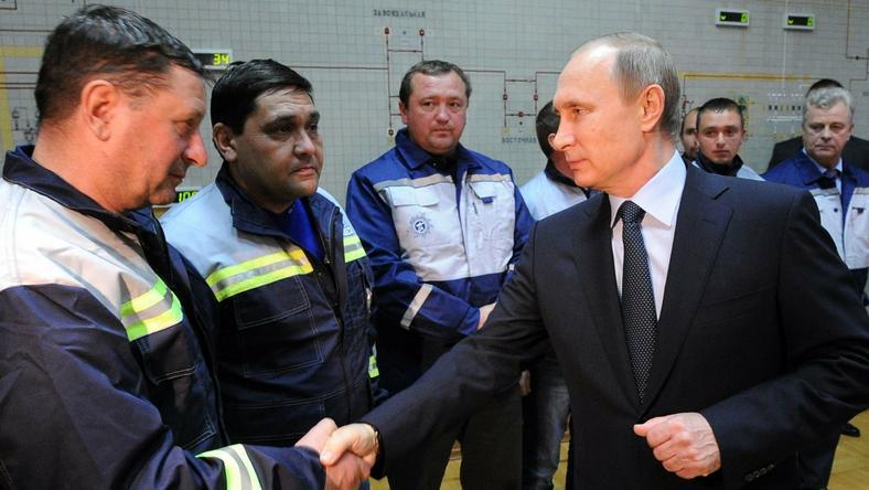 Putin podczas spotkania na Krymie z przedstawicielami sektora energetycznego