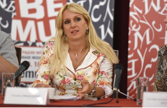 Ivona Jevtić, gradska sekretarka za kulturu