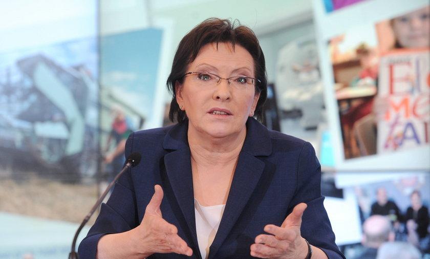 Ewa Kopacz przekonuje górników o koniecznych reformach