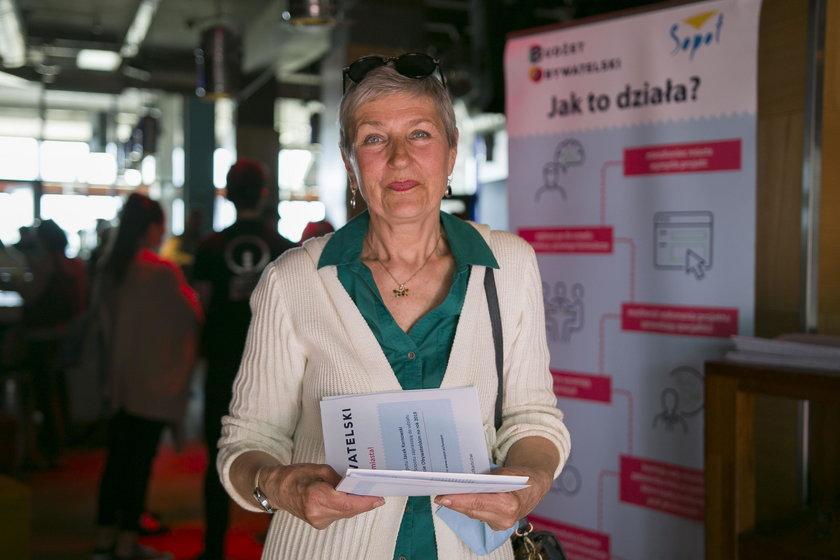 Małgorzata Schron (65 l.) z Sopotu