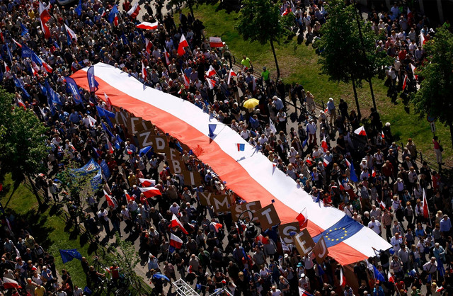 poljska demonstracije