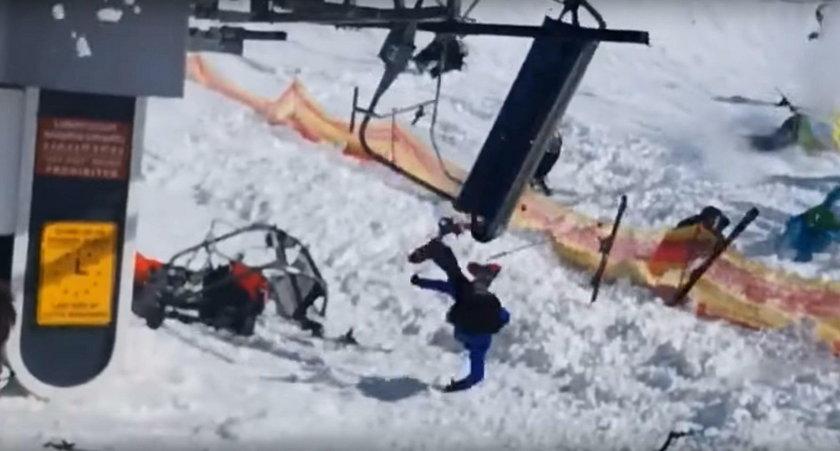 Koszmar w kurorcie narciarskim. Cud, że nikt nie zginął!