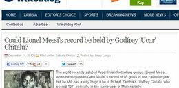 Chcą odebrać rekord Messiemu!