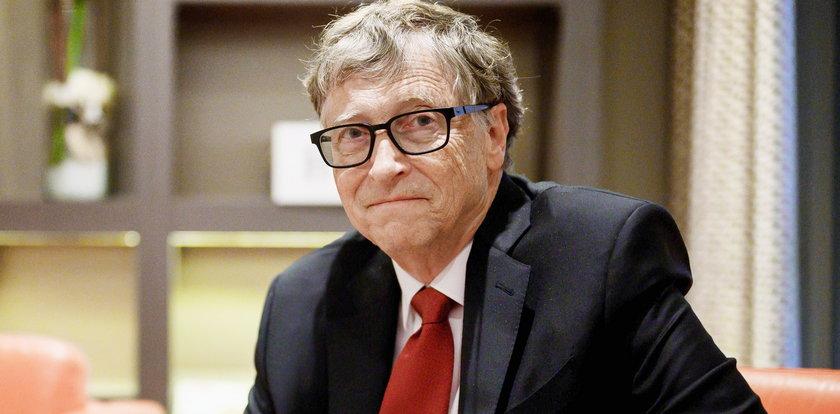 """Zapytali Billa Gatesa o rozwód. """"Był bliski łez"""""""
