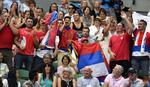 SRPSKI MELBURN Žene sa šajkačama, desetine trobojki... Rod Lejver arena je uz Noleta! /FOTO/