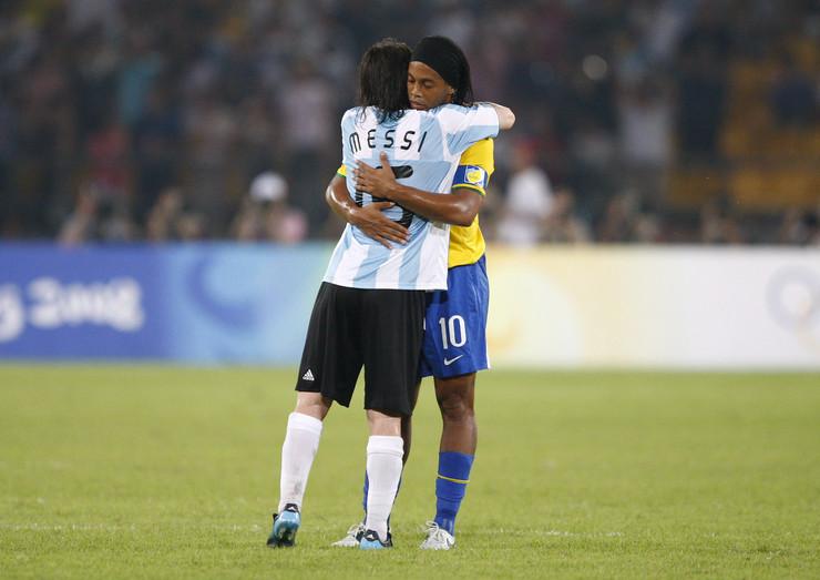 Lionel Mesi i Ronaldinjo