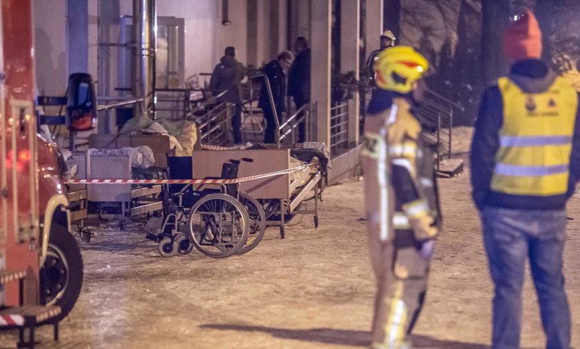 Tragiczny pożar w hospicjum w Chojnicach. Są ofiary śmiertelne