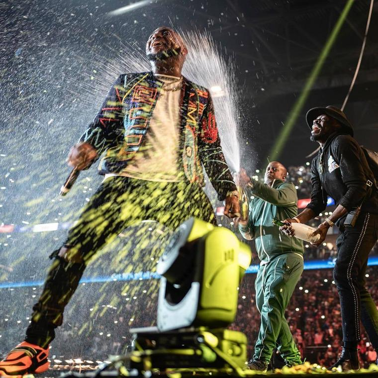 What's next for Afrobeats after Davido conquered the 02? (Instagram/Efe One)