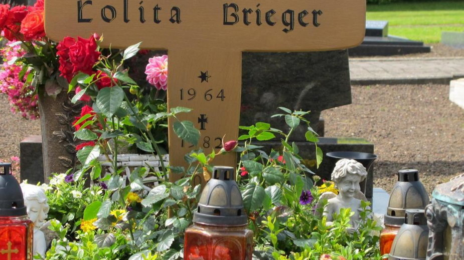 Miejsce pochówku Lolity Brieger