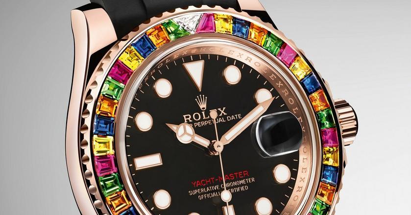 Nowy zegarek Roleksa jest wysadzany drogocennymi kamieniami