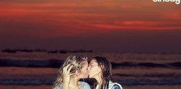 Moda na szokujące pocałunki trwa