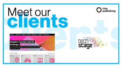 Meet our clients – Techstage