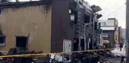 Potężny pożar w domu opieki. Wiele ofiar