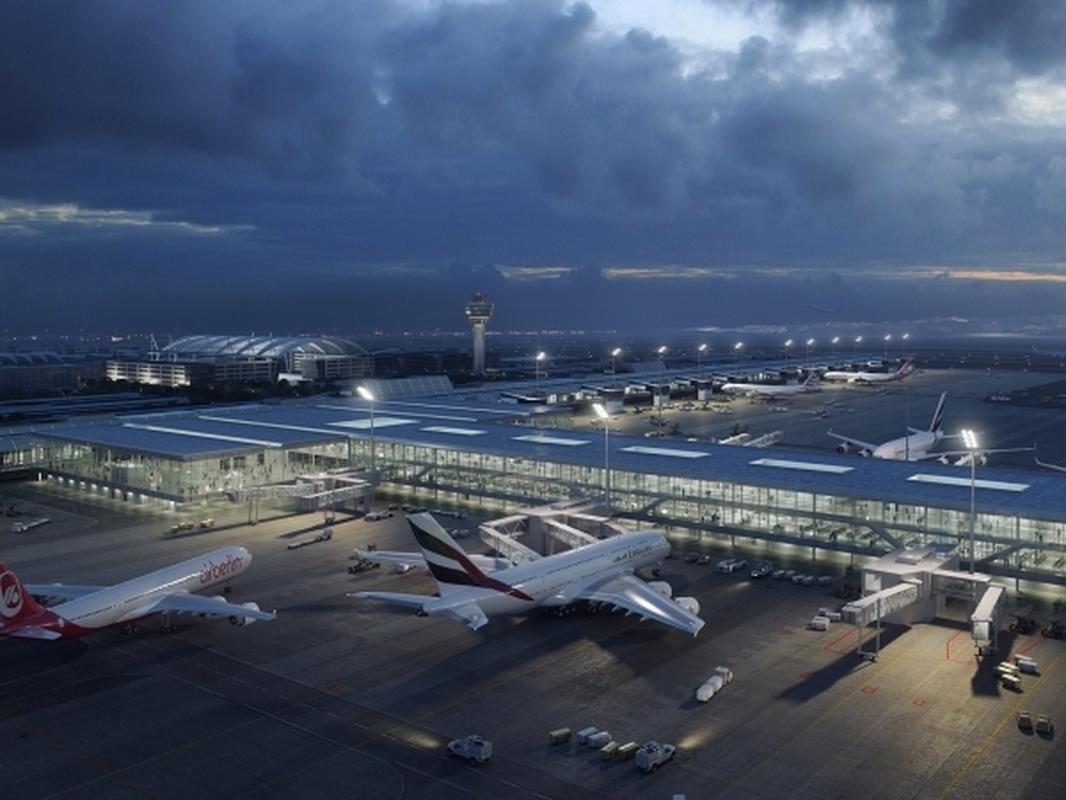 Projekt przebudowy Terminala I lotniska w Monachium
