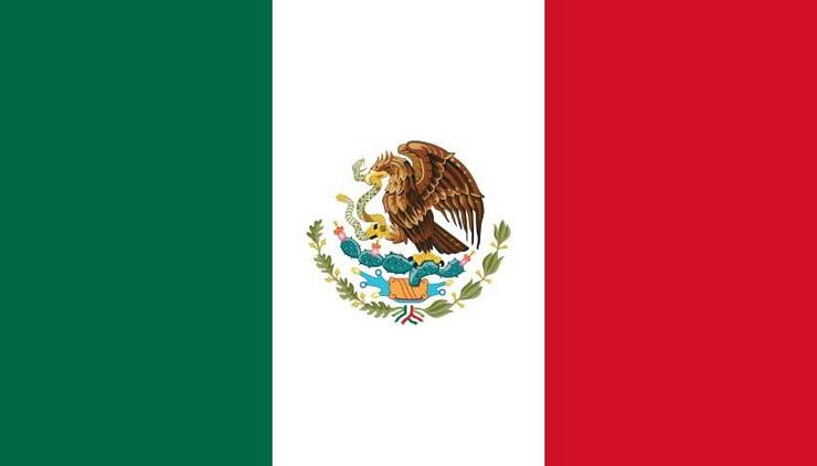 Meksiko zastava