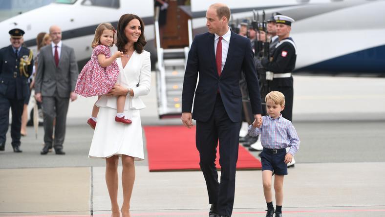 WARSZAWA BRYTYJSKA PARA KSIĄŻĘCA WIZYTA (książę William, księżna Kate)