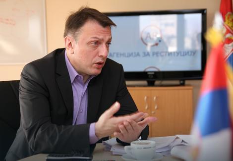 Strahinja Sekulić, direktor Agencije za restituciju