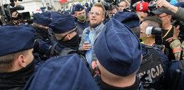 Strajk przedsiębiorców w Warszawie. Paweł Tanajno: policja kłamie!