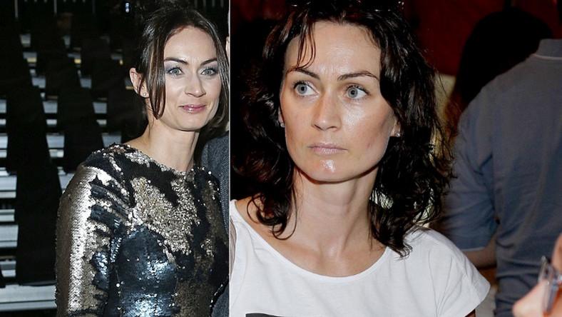 """Te zdjęcia to dowód na to, że """"makijaż robi różnicę""""."""