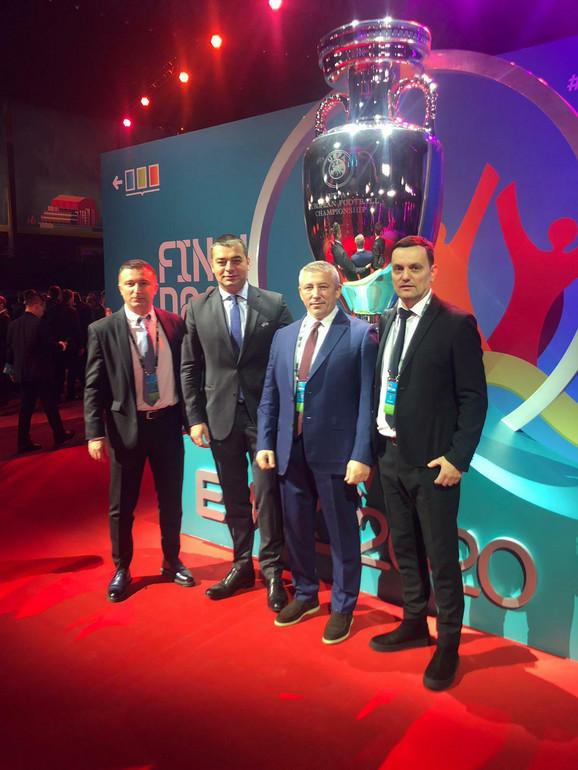 Delegacija FSS-a na žrebu za Evropsko prvenstvo