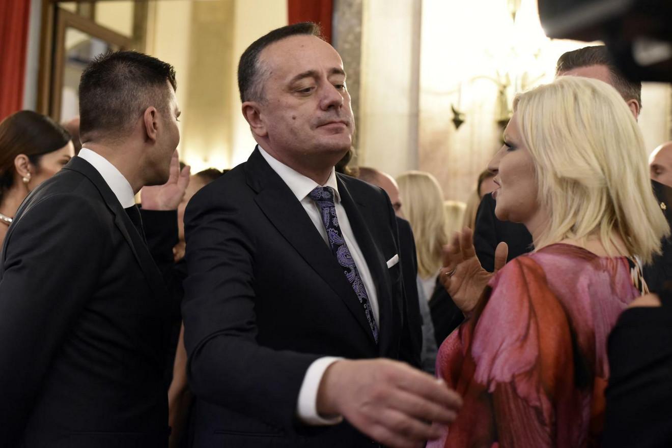 Ministarka Zorana Mihajlović sa Aleksandrom Antićem, ministrom rudarstva i energetike