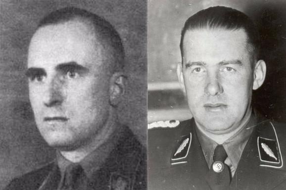 Zigfrid Kaše i Odilo Globočnik