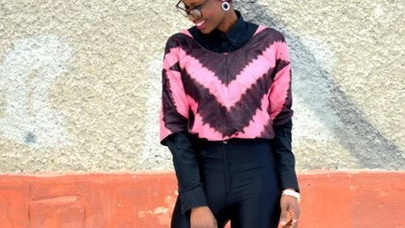 OOTD is a chic look from Ighorodje Elizabeth