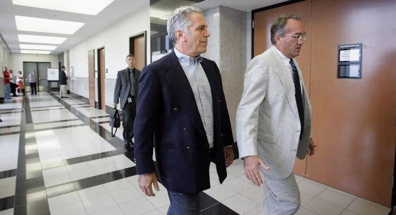 Fresh out of jail, Jeffrey Epstein was welcomed by the rich and powerful
