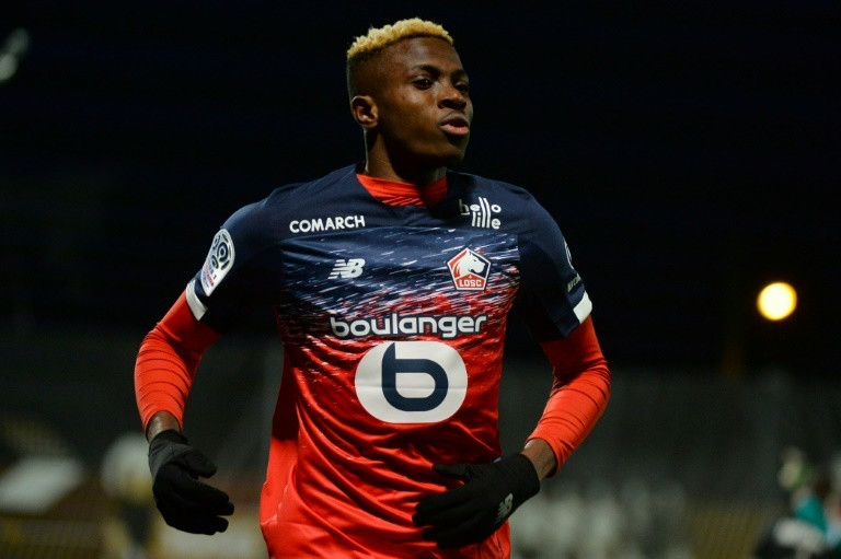 Victor Osimhen is expected to get a pay rise wither at Lille or another club