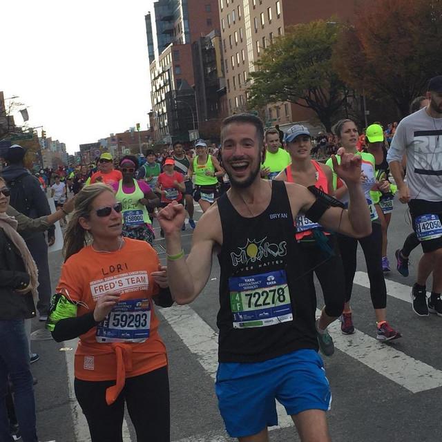 Maraton, Štajnhauerova životna pobeda