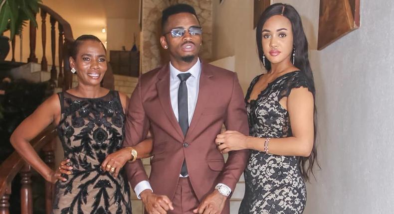 Mama Dangote, Tanasha Donna and Diamond Platnumz