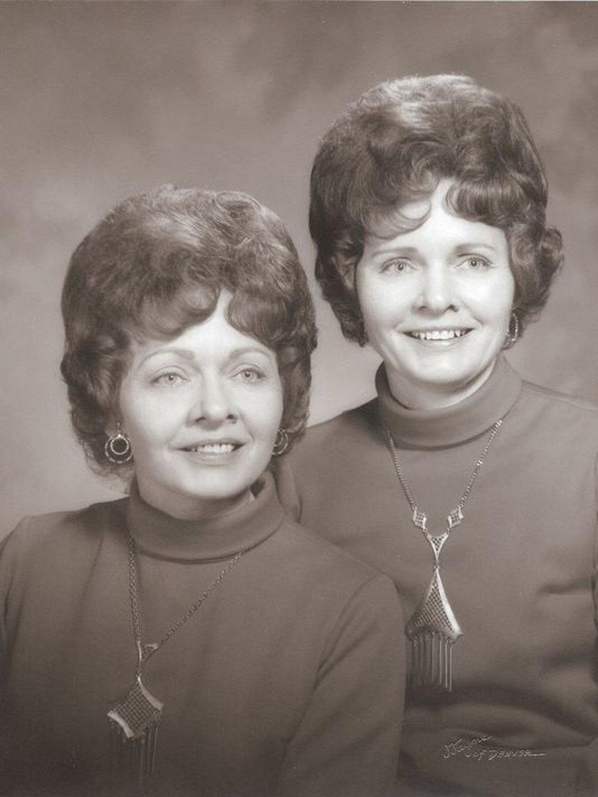 Helen Mae Cook i Clara Mae Mitchel