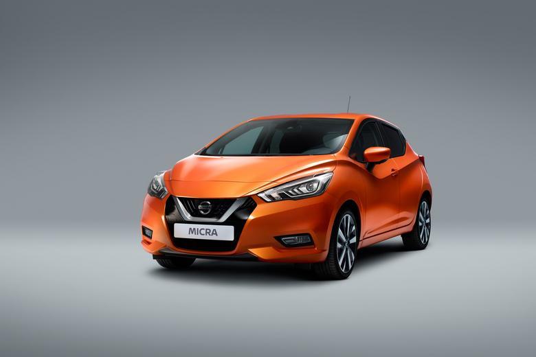 Nissan_Micra - pierwsze auto do systemu współużytkowania Get & Go