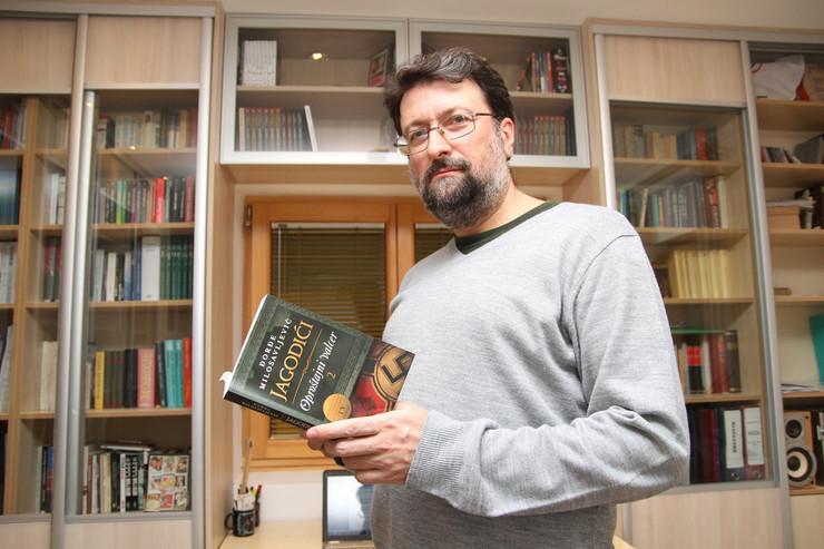 Đorđe Milosavljević uveo seminar o stripu za studente FDU foto:M.Mitrović