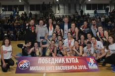 ŽKK Partizan, KKŽ Crvena zvezda, ŽKK Crvena zvezda